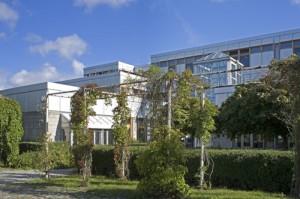 Silberlaube der FU Berlin